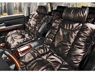 "Комплект накидок ""LUXURY"" LEX-1120 кофейный"